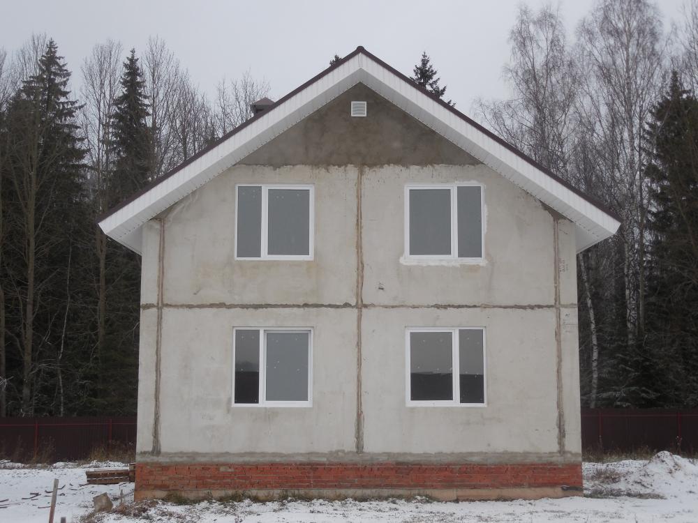 дома из железобетонных панелей фото самодельных